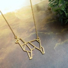 Cute Alpaca Necklace Female and Male Gift Jewelry Necklace–12pcs/Lot(6 Colors Free Choice)