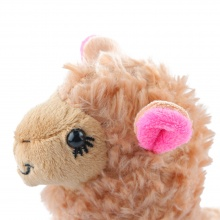 1 Pcs Cute Alpaca Plush Toy For Kids Baby Camel Cream Llama Stuffed Animal Doll 23CM Height Soft Educational Plush Toy
