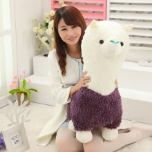 Kawaii Sheep Alpaca Dolls Plush Toys Stuffed Llama Yamma Pillow Soft Cushion Favorite Kids Toys Birthday Christmas Gifts F061