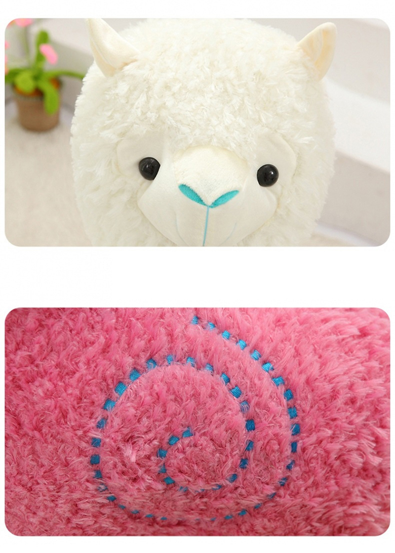 8 Sheep Alpaca Dolls Plush Toys Stuffed Sheep Llama Yamma Pillow Soft Cushion